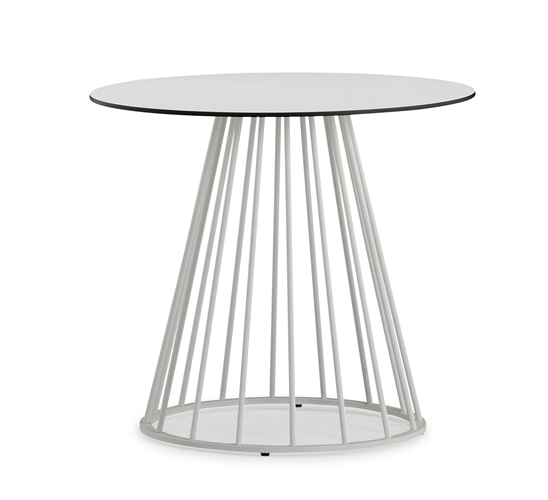 Outdoor round contract table (T106HPL)