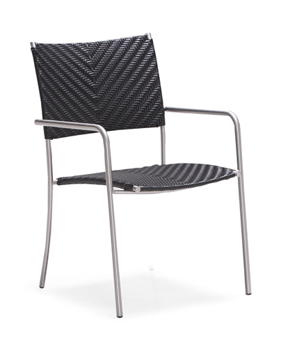 Stackable rattan garden dining chair(Y038TF)
