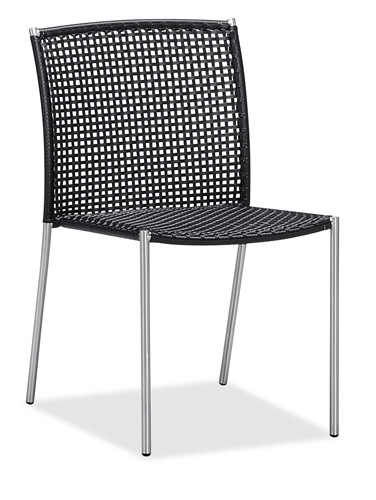 Hot sale rattan garden dining chair outdoor patio chair armless (Y071T)