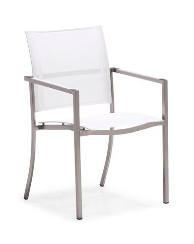 Stainless steel outdoor dining chair (Y062BF)