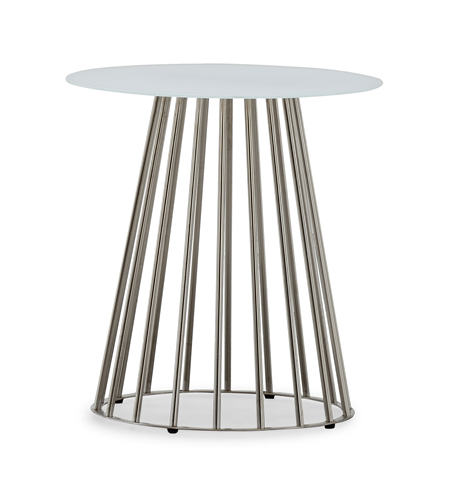 Round contract commercial table patio table set (T106G)