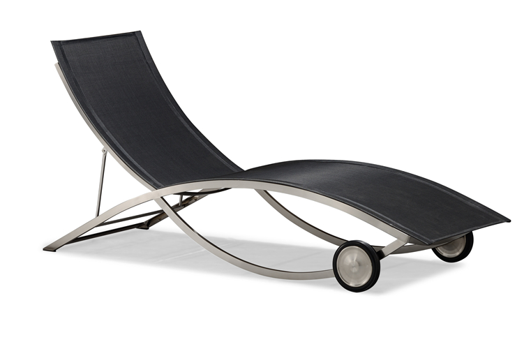 Hot sale nice design beach sun lounger (C110B)