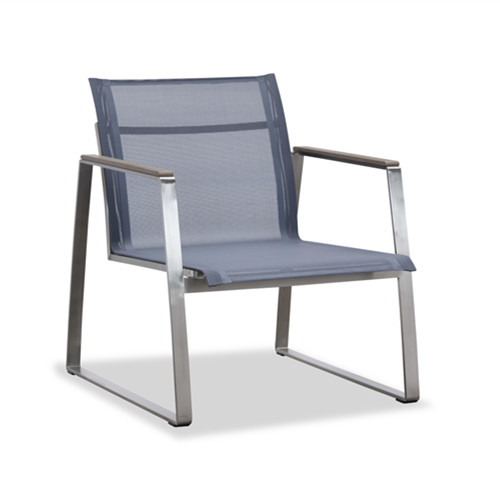Sling outdoor sofa club chair(S303BF)