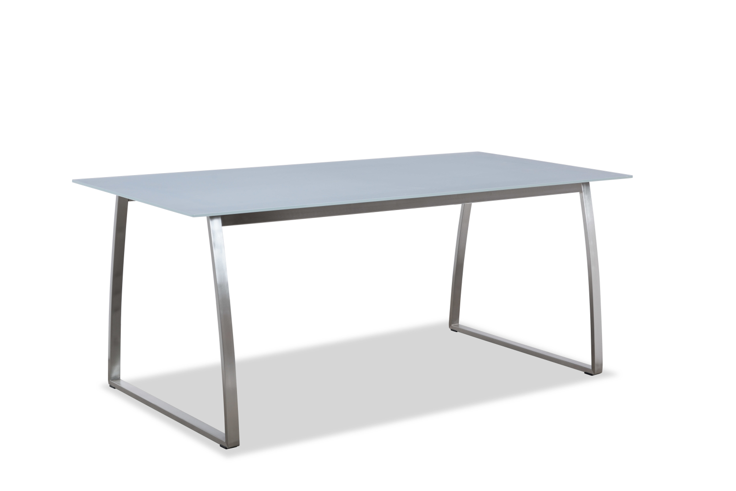 2018 new collection outdoor glass dining table(T303G)