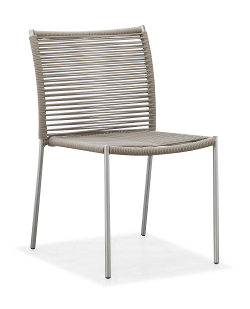 Outdoor modern dining chair armless(Y071S)