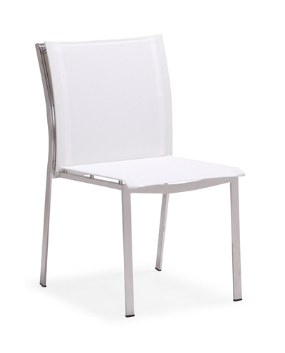 Patio garden dining furniture chair armless (Y059B)