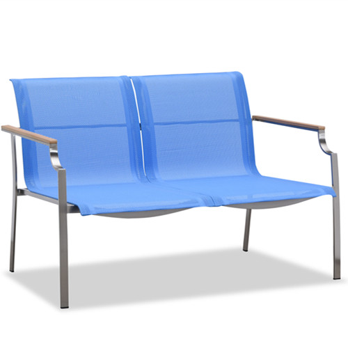 New design blue outdoor sling sofa(S304BF2)